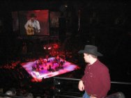 Empsall at a George Strait Concert in 2007