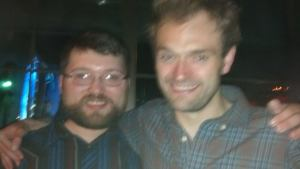 Nathan Empsall and Chris Thile, the 9:30 Club, May 4 2014